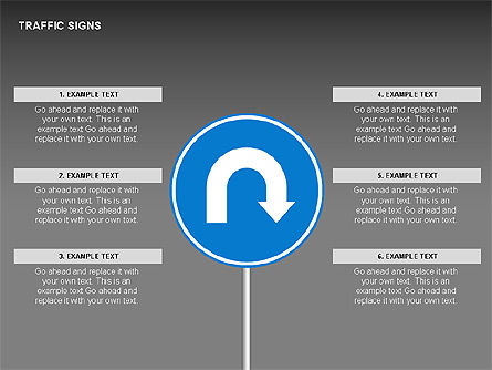 Traffic Signs Diagrams, Slide 9, 00318, Shapes — PoweredTemplate.com