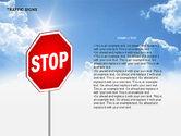 Shapes: 교통 표지판 다이어그램 #00318