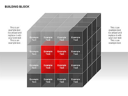 Building Block Diagrams, Slide 3, 00320, Matrix Charts — PoweredTemplate.com