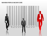 Shapes: Bar Codes Diagram #00322