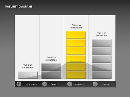Maturity Diagrams Collection, Slide 4, 00325, Stage Diagrams — PoweredTemplate.com