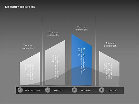 Maturity Diagrams Collection, Slide 9, 00325, Stage Diagrams — PoweredTemplate.com
