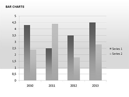 Data-Driven Bar Charts Collection, Slide 16, 00326, Stage Diagrams — PoweredTemplate.com