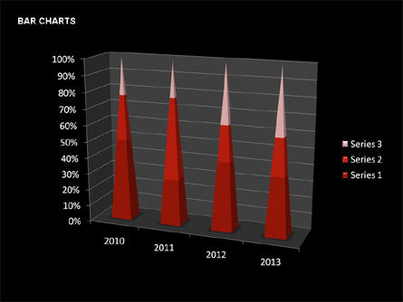 Data-Driven Bar Charts Collection, Slide 23, 00326, Stage Diagrams — PoweredTemplate.com