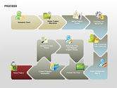 Process Diagrams: Successive Steps Process Diagrams #00328