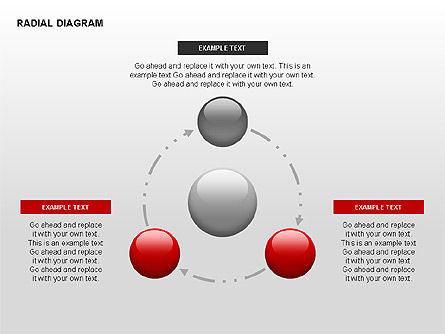 Radial Diagram, 00330, Stage Diagrams — PoweredTemplate.com