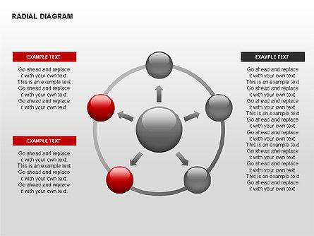 Radial Diagram, Slide 11, 00330, Stage Diagrams — PoweredTemplate.com