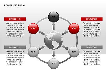 Radial Diagram, Slide 12, 00330, Stage Diagrams — PoweredTemplate.com
