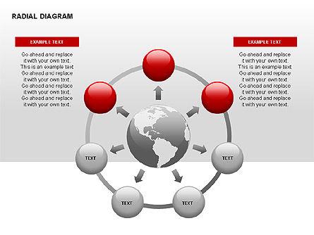 Radial Diagram, Slide 13, 00330, Stage Diagrams — PoweredTemplate.com