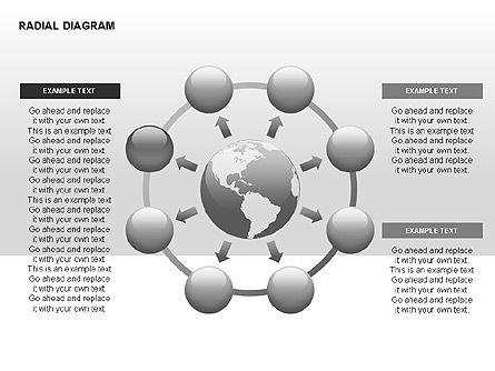 Radial Diagram, Slide 14, 00330, Stage Diagrams — PoweredTemplate.com