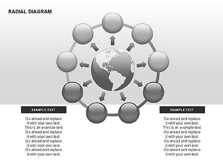 Radial Diagram, Slide 15, 00330, Stage Diagrams — PoweredTemplate.com