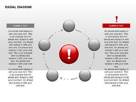 Radial Diagram, Slide 3, 00330, Stage Diagrams — PoweredTemplate.com