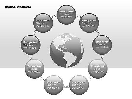 Radial Diagram, Slide 7, 00330, Stage Diagrams — PoweredTemplate.com