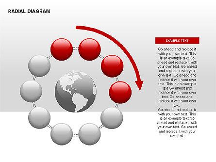 Radial Diagram, Slide 8, 00330, Stage Diagrams — PoweredTemplate.com