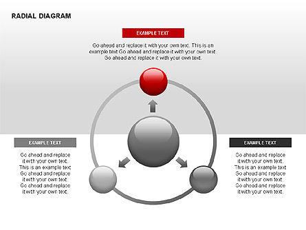 Radial Diagram, Slide 9, 00330, Stage Diagrams — PoweredTemplate.com