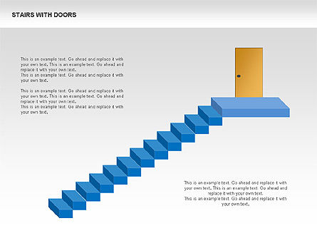 Stage Diagrams: Stairs and Doors Diagrams #00336