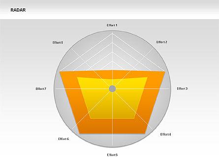 Data Driven Radar Charts, Slide 4, 00337, Business Models — PoweredTemplate.com