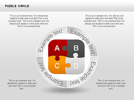 Puzzle Diagrams: Puzzle Circle Shapes #00342