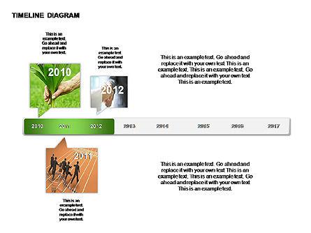 Round Timeline Photos Diagram, Slide 6, 00343, Timelines & Calendars — PoweredTemplate.com