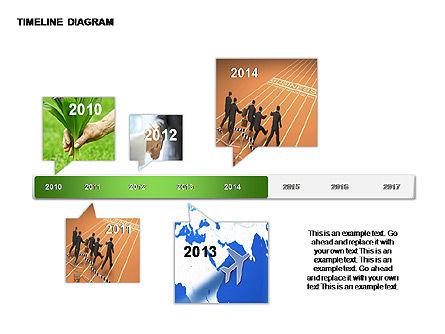 Round Timeline Photos Diagram, Slide 7, 00343, Timelines & Calendars — PoweredTemplate.com