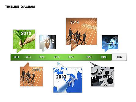 Round Timeline Photos Diagram, Slide 8, 00343, Timelines & Calendars — PoweredTemplate.com