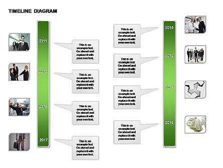 Round Timeline Photos Diagram, Slide 9, 00343, Timelines & Calendars — PoweredTemplate.com