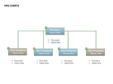 Organizational Charts, Slide 2, 00344, Organizational Charts — PoweredTemplate.com