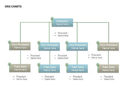 Organizational Charts, Slide 3, 00344, Organizational Charts — PoweredTemplate.com