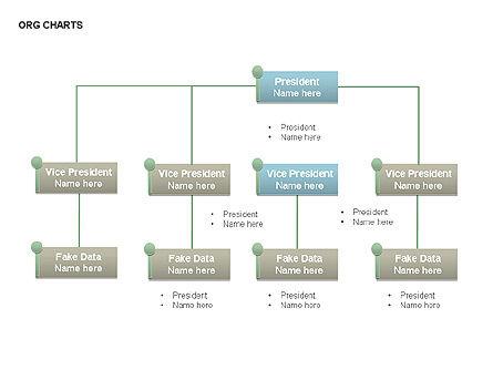 Organizational Charts, Slide 4, 00344, Organizational Charts — PoweredTemplate.com