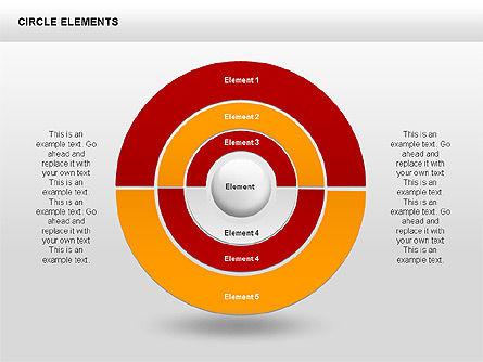 Circle Charts, Slide 2, 00345, Pie Charts — PoweredTemplate.com