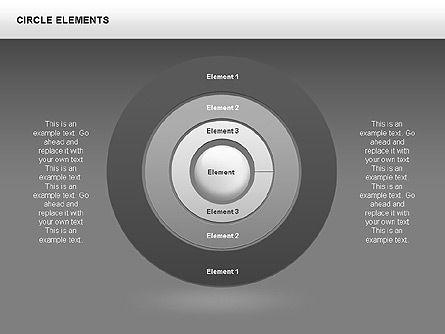 Circle Charts, Slide 6, 00345, Pie Charts — PoweredTemplate.com