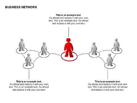 People Network Charts, Slide 7, 00356, Graph Charts — PoweredTemplate.com