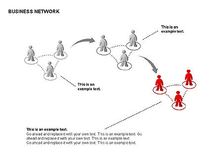 People Network Charts, Slide 9, 00356, Graph Charts — PoweredTemplate.com