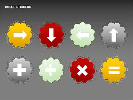 Free Color Elements Shapes, Slide 3, 00357, Shapes — PoweredTemplate.com