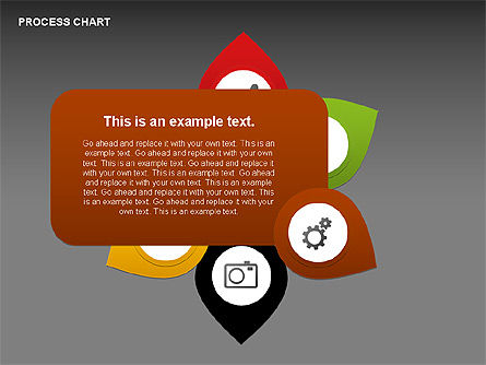 Process Charts, Slide 14, 00361, Process Diagrams — PoweredTemplate.com