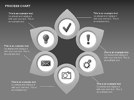 Process Charts, Slide 16, 00361, Process Diagrams — PoweredTemplate.com