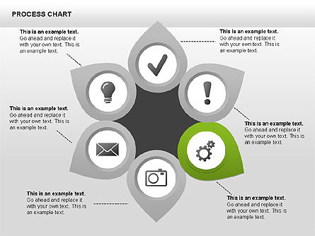 Process Charts, Slide 5, 00361, Process Diagrams — PoweredTemplate.com