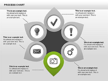 Process Charts, Slide 6, 00361, Process Diagrams — PoweredTemplate.com