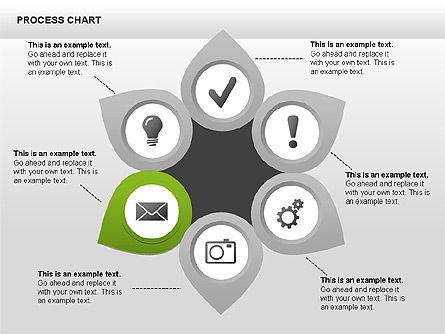 Process Charts, Slide 7, 00361, Process Diagrams — PoweredTemplate.com