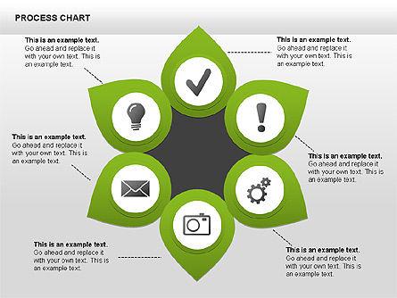 Process Charts, Slide 8, 00361, Process Diagrams — PoweredTemplate.com