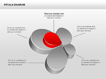Stage Diagrams: 3D Petals Diagram #00362