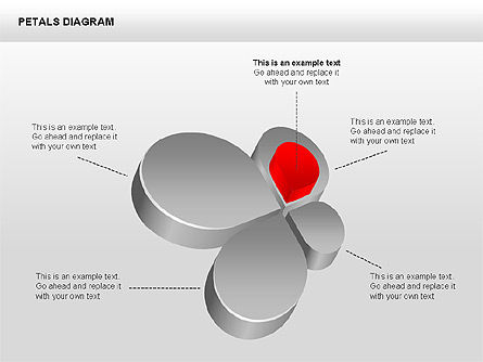 3D Petals Diagram Slide 2