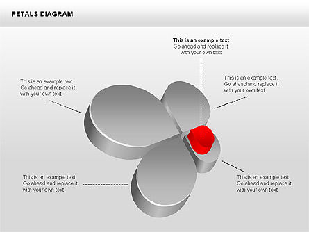 3D Petals Diagram Slide 3