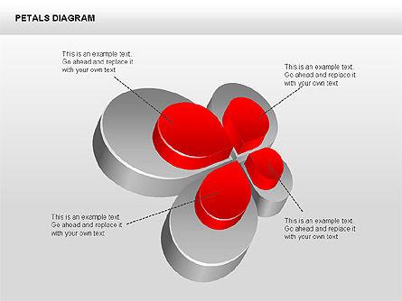3D Petals Diagram, Slide 5, 00362, Stage Diagrams — PoweredTemplate.com