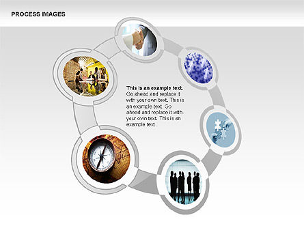 Process Diagrams with Images, 00363, Process Diagrams — PoweredTemplate.com