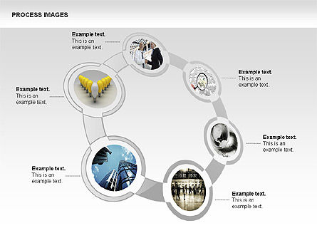 Process Diagrams with Images, Slide 2, 00363, Process Diagrams — PoweredTemplate.com