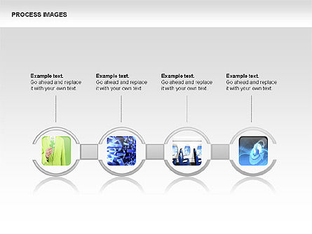 Process Diagrams with Images, Slide 3, 00363, Process Diagrams — PoweredTemplate.com