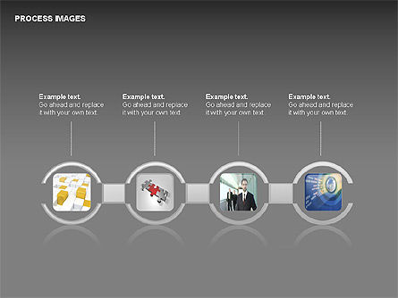 Process Diagrams with Images, Slide 4, 00363, Process Diagrams — PoweredTemplate.com
