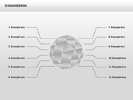 Matrix Charts: Icosahedron #00369