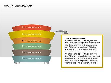 Multisided Diagram, Slide 10, 00374, Stage Diagrams — PoweredTemplate.com